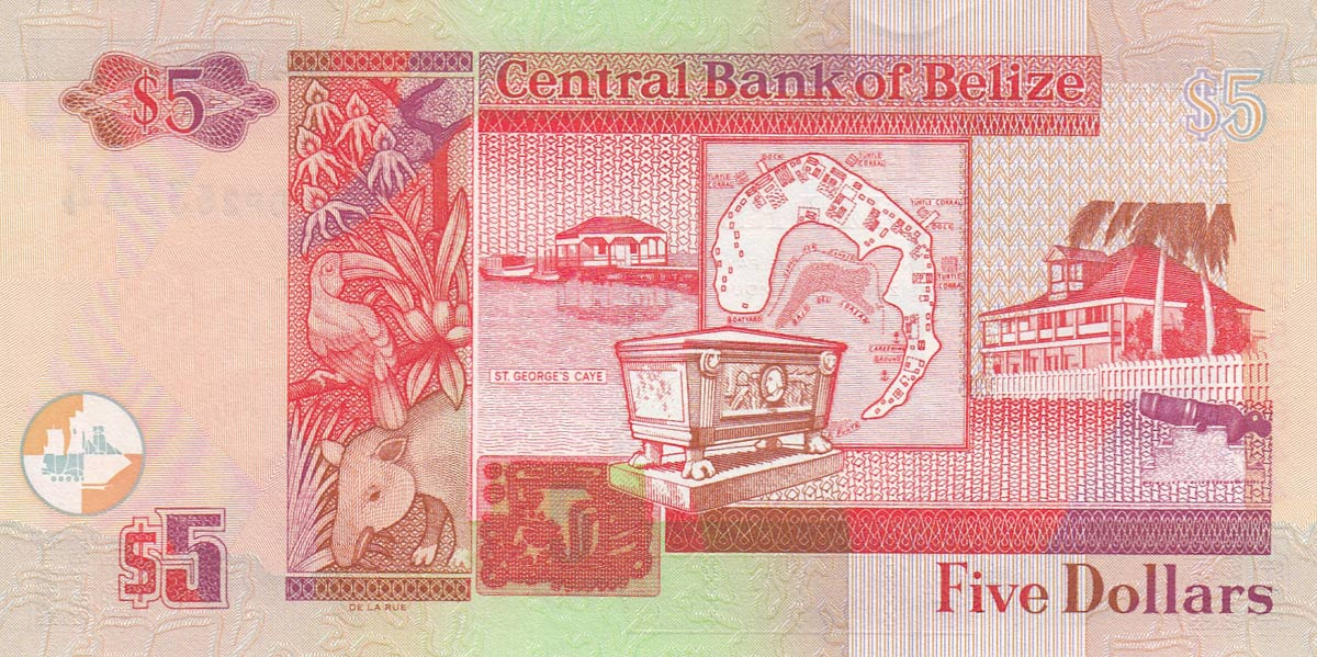 Active Barbados 5 Dollars 2007 p67a Unc