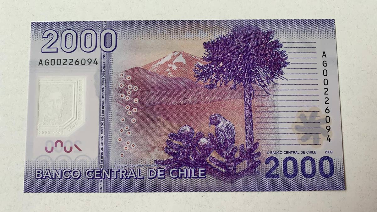 Chile Green Apple Paper Money Auctions