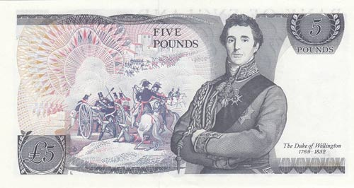 Great Britain, 5 Pounds, 1980, ...