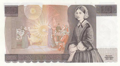 Great Britain, 10 Pounds, 1984, ...