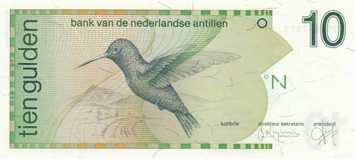 Netherlands Antilles, 10 Gulden, ...